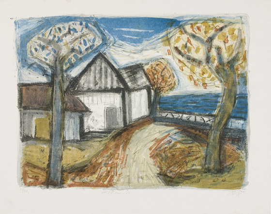 Otto Dix: Herbst am See